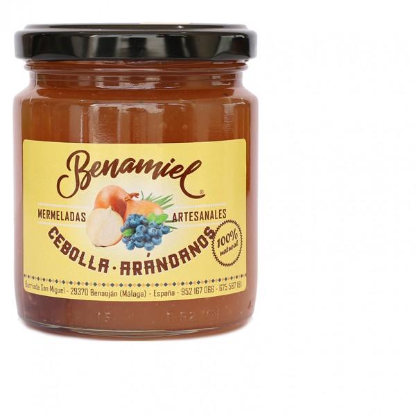 mermelada de cebolla y arandanos benamiel