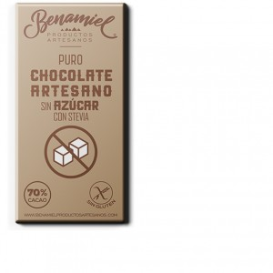 chocolate con stevia benamiel