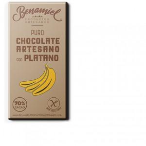 chocolate con platano benamiel