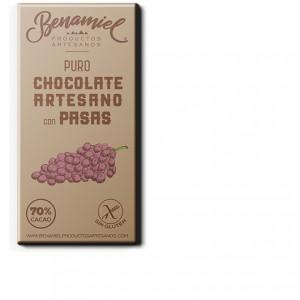 chocolate con pasas benamiel