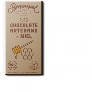chocolate con miel benamiel