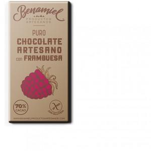 chocolate con frambuesa benamiel