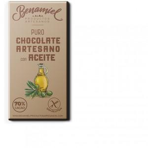 chocolate con aceite de oliva benamiel